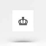 King Crown Temporary Tattoo (Set of 4)