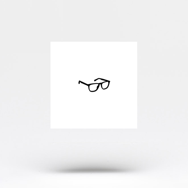 Eyeglasses Temporary Tattoo (Set of 3)