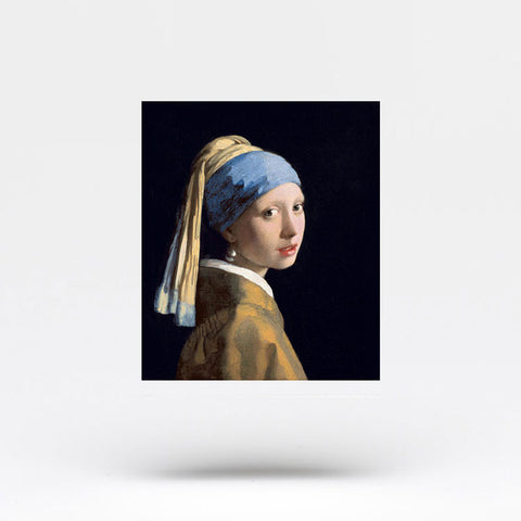 Girl With A Pearl Earring Temporary Tattoo (Set of 2)