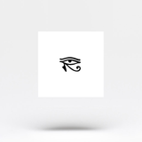 Small Eye of Horus Temporary Tattoo (Set of 3)