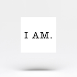 I AM Temporary Tattoo (Set of 4)