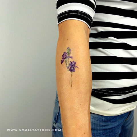 Iris Temporary Tattoo by Mini Lau (Set of 3)