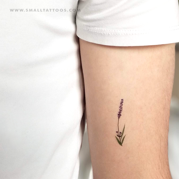Lavender Temporary Tattoo by Zihee (Set of 2)