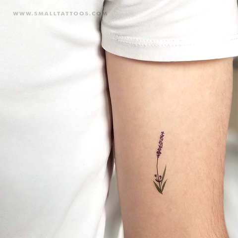 Lavender Temporary Tattoo by Zihee (Set of 3)