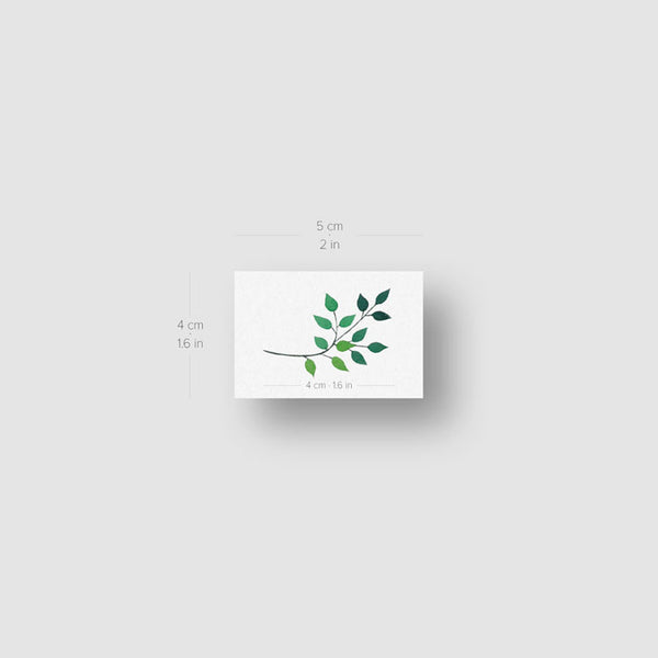 Leaves Temporary Tattoo by Zihee (Set of 3)