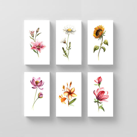 Lena Fedchenko Floral Set (Set of 12)