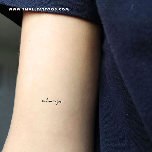 Always Temporary Tattoo (Set of 3)