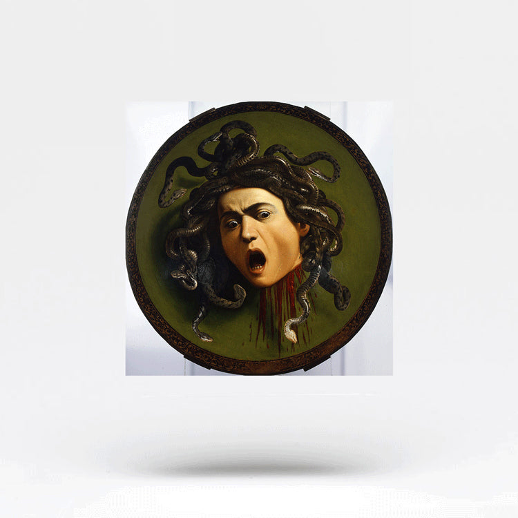 Medusa Temporary Tattoo (Set of 3)