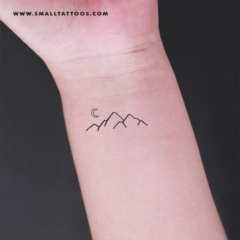 Mountain Temporary Tattoo (Set of 3)