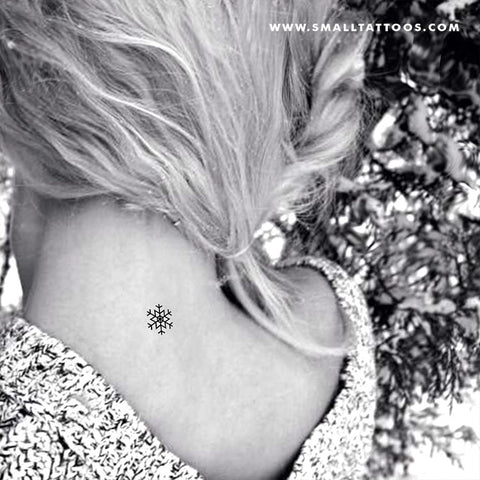 Snowflake Temporary Tattoo (Set of 4)