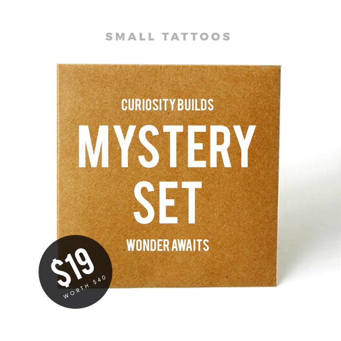 Mystery Set - $40 worth of temporary tattoos for just $19!