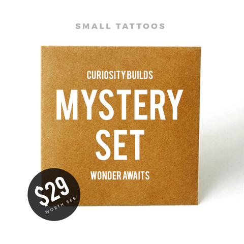 Mystery Set - $65 worth of temporary tattoos for just $29!