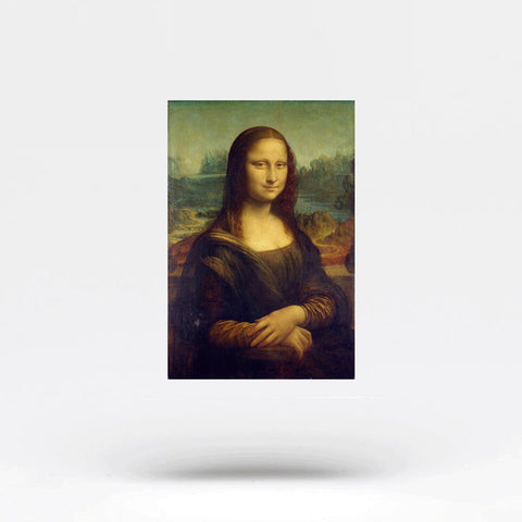 Mona Lisa Temporary Tattoo (Set of 2)