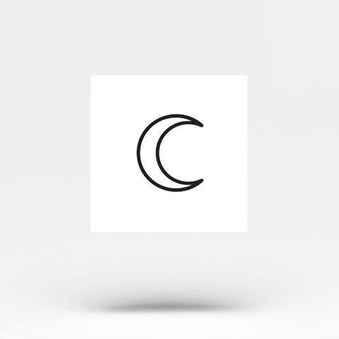 Crescent Moon Outline Temporary Tattoo Set Of 3 Small Tattoos 700+ vectors, stock photos & psd files. crescent moon outline temporary tattoo set of 3