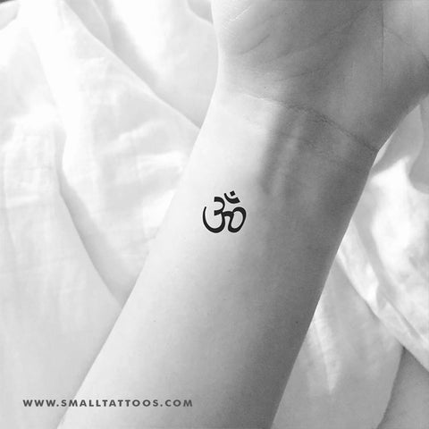 Om Temporary Tattoo (Set of 3)