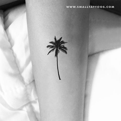 Palm Tree Temporary Tattoo (Set of 3)