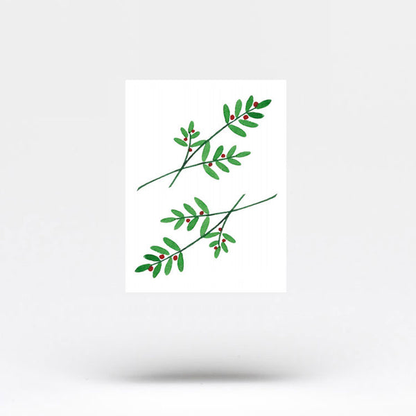 Berry Branch Temporary Tattoo by Zihee (Set of 3)