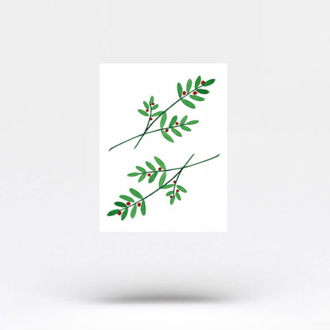 Possumhaw Temporary Tattoo by Zihee (Set of 2)