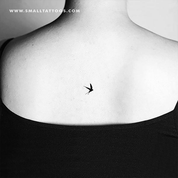 Small Swallow Temporary Tattoo (Set of 3)