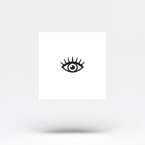 Small Eye Temporary Tattoo (Set of 3)