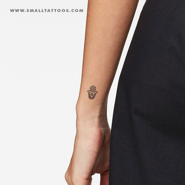 Hamsa Temporary Tattoo (Set of 3)