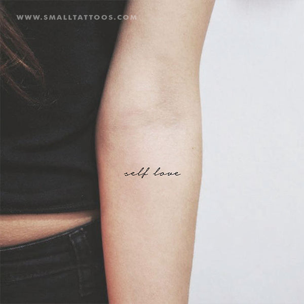 Self Love Temporary Tattoo (Set of 3)