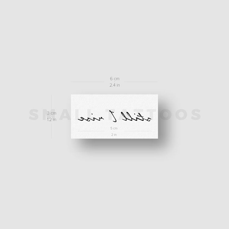 Still I Rise Temporary Tattoo (Set of 3)