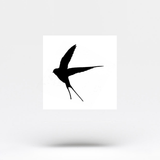 Swallow Temporary Tattoo (Set of 3)