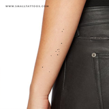Minimalist Taurus Constellation Temporary Tattoo (Set of 2)