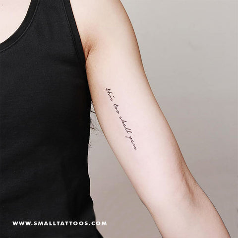 This Too Shall Pass Temporary Tattoo (Set of 3)