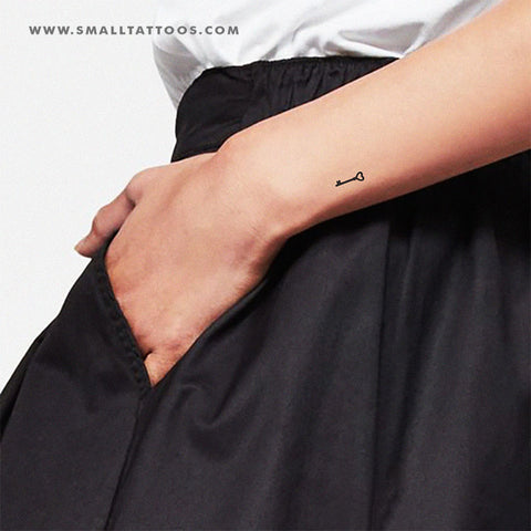Key Temporary Tattoo (Set of 3)
