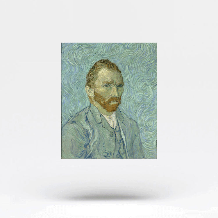 Van Gogh Self-Portrait Temporary Tattoo (Set of 2)