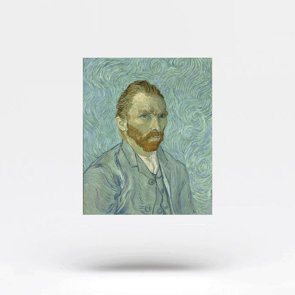 Van Gogh Self-Portrait Temporary Tattoo (Set of 3)