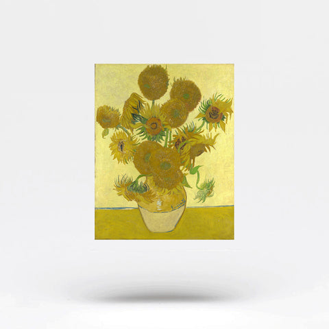 Van Gogh's Sunflower Temporary Tattoo (Set of 2)