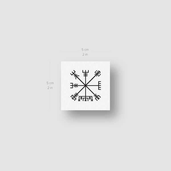 Vegvísir Temporary Tattoo (Set of 3)