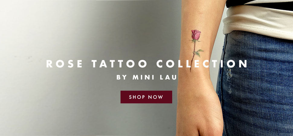 Rose tattoo collection by Mini Lau