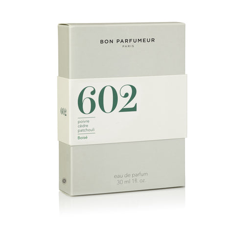 602 (pepper, cedar, patchouli)
