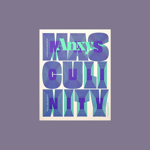 Anxy No. 4: The Masculinity Issue - GUDBERG NERGER Shop