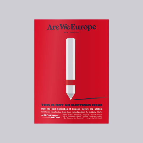 Are We Europe Issue 4 – GUDBERG NERGER Magazine Shop