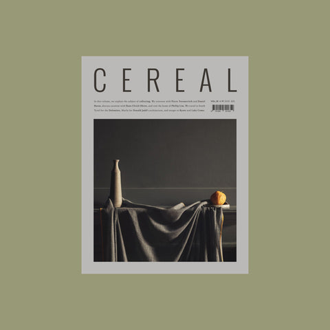 Cereal Volume 16 – buy at GUDBERG NERGER Shop