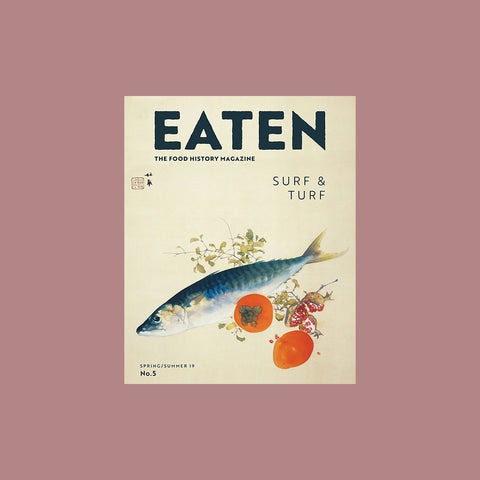 Eaten Magazine Volume 5: Surf & Turf - buy at GUDBERG NERGER Shop