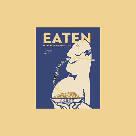 Eaten Magazine Volume 7: Carbs - buy at GUDBERG NERGER Shop