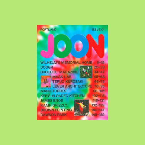 JOON Magazine – Issue 01 – buy at GUDBERG NERGER