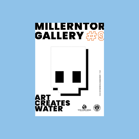 Millerntor Gallery #9 - WATER is a human right – GUDBERG NERGER