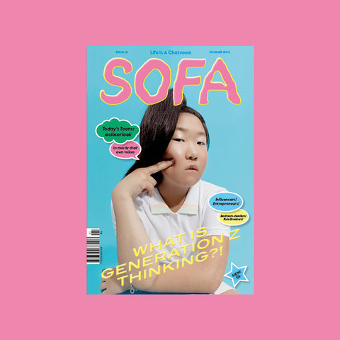 SOFA I – Generation Z - GUDBERG NERGER Magazine Shop