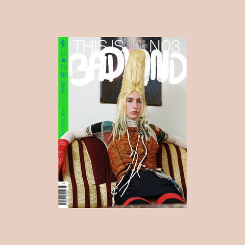This is Badland Magazine Issue 03 – buy at GUDBERG NERGER