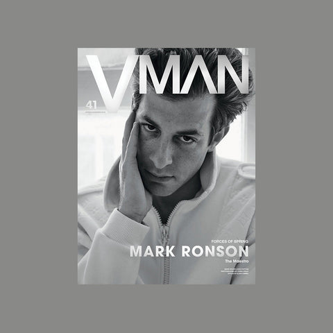 VMAN Issue 41 – FORCES OF SPRING MARK RONSON - GUDBERG NERGER