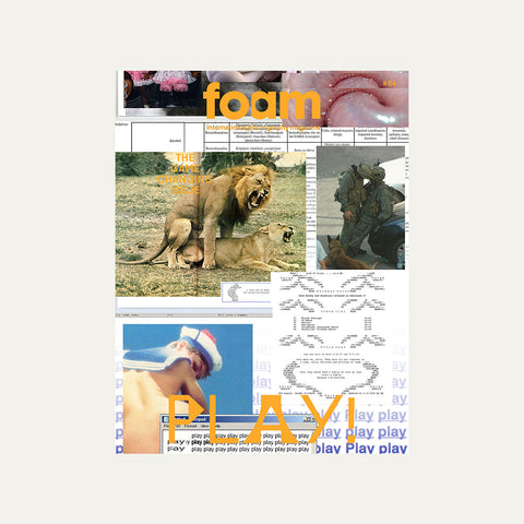 Foam Magazine #54 – Play! The Game-changing Issue – GUDBERG NERGER