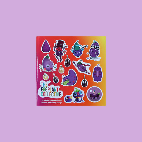 Klebstoff Stickermag: The Eggplant Collective