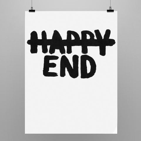 "Uwe Lewitzky Poster – ""Happy End"""